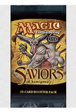 Wizards of the Coast Saviors of Kamigawa Booster Pack