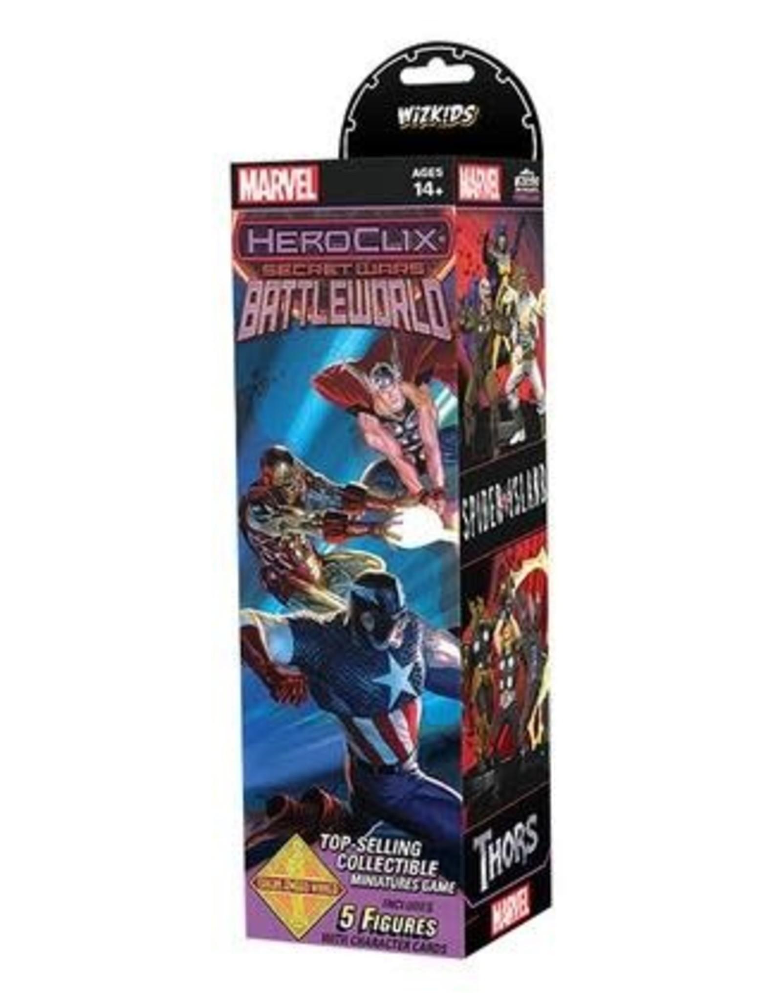 WizKids Secret Wars BattleWorld 5 Figure Booster
