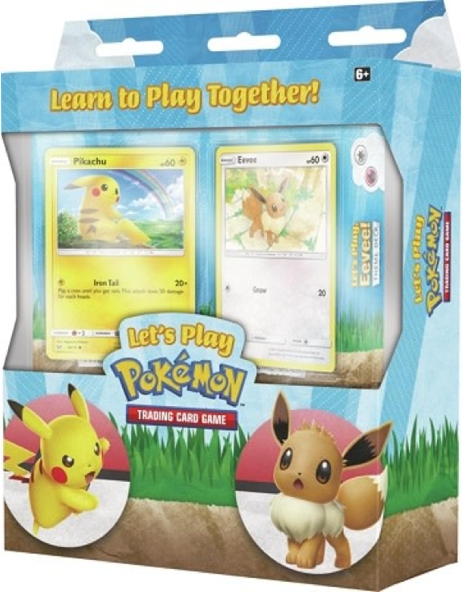 Pokemon Let's Play Pokemon Pikachu and Eevee