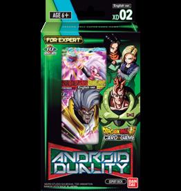 Bandai Dragonball Super Expert Deck Android Duality