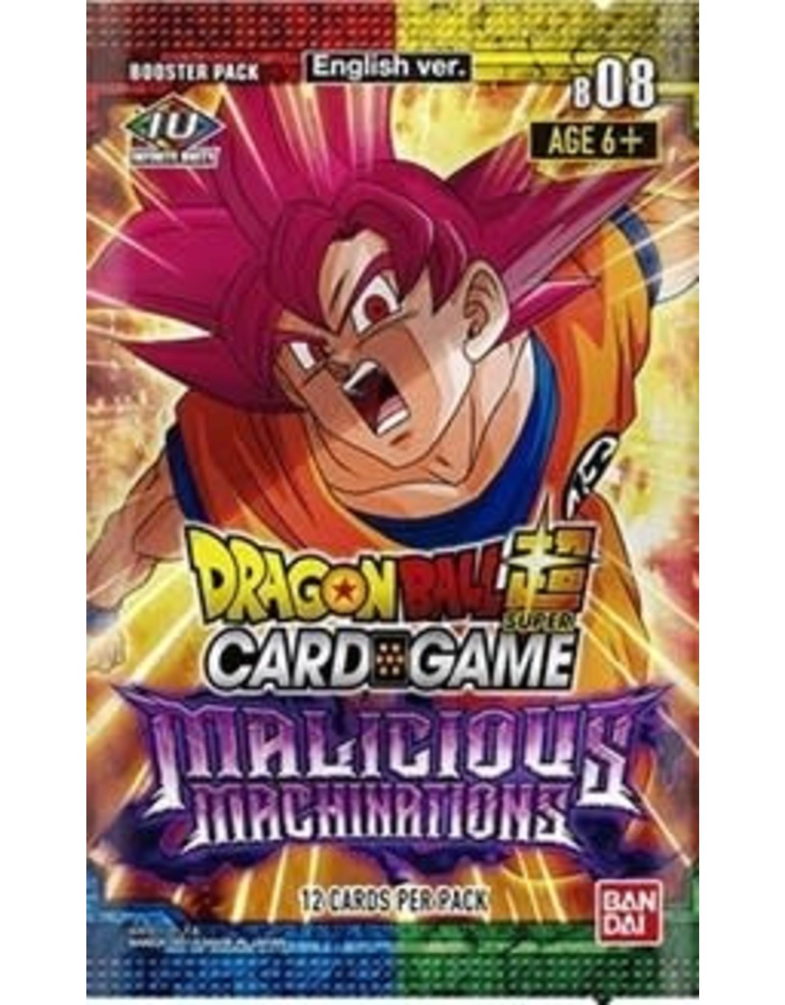 Bandai Dragonball Super Booster Malicious Machinations