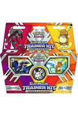 Pokemon Sun & Moon Trainer Kit Lycanroc & Alolan Raichu