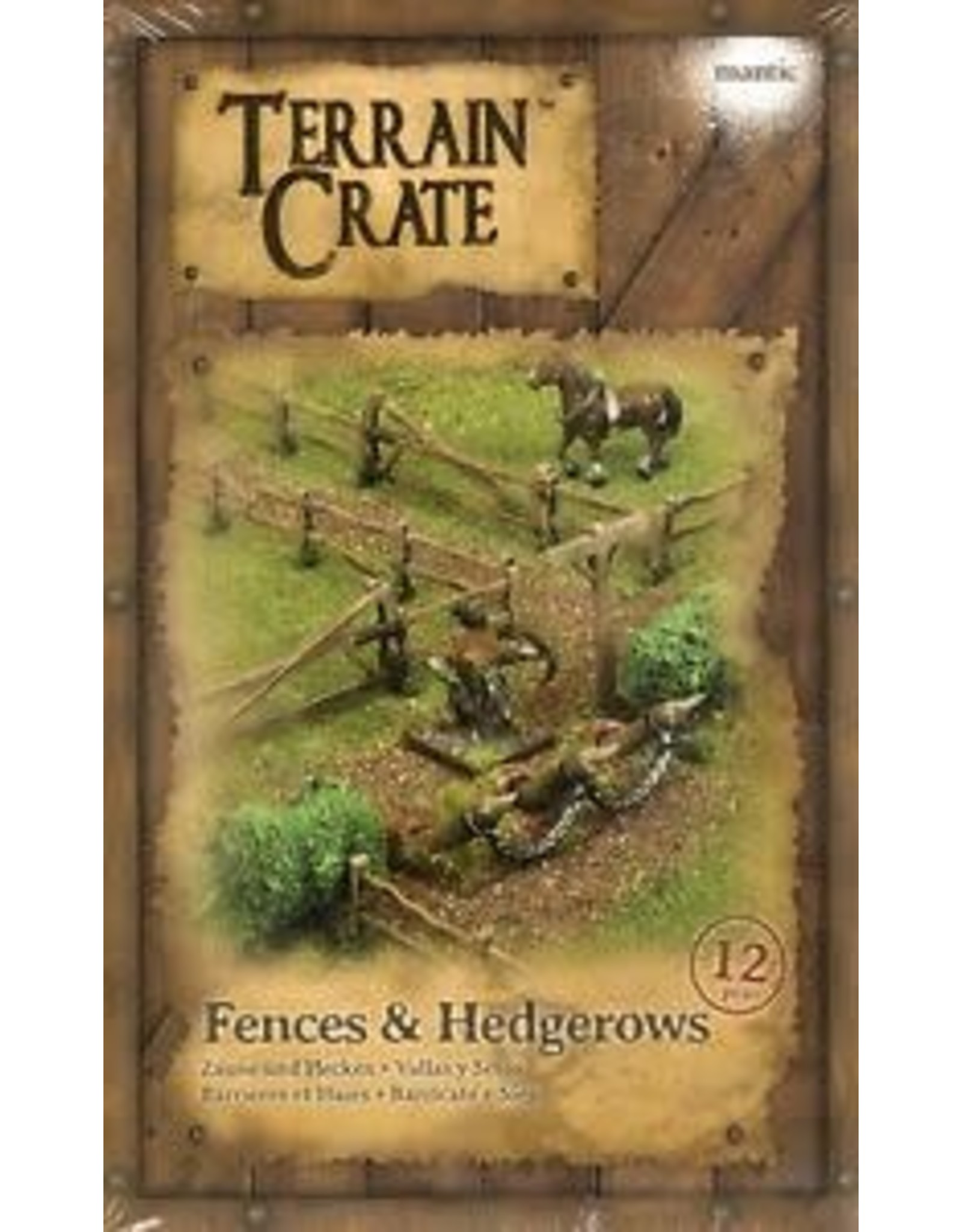 Terrain Crate Terrain Crate - Fences & Hedgerows