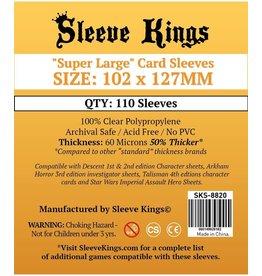 """Sleeve Kings Sleeve Kings """"Super Large"""" Sleeves 102mm x 127mm"""