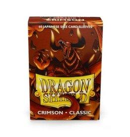 Arcane Tinmen Dragon Shields Matte Standard Size (60) - Crimson