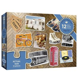 Gibsons Gibsons Puzzle - Days Out 12 Pieces