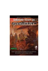 Sinister Fish Games Gloomhaven Removable Stickers Set
