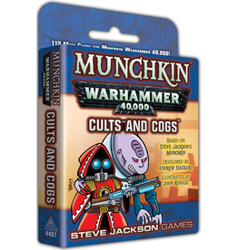 Steve Jackson Games Munchkin Warhammer 4000 Expansion - Cults and Cogs