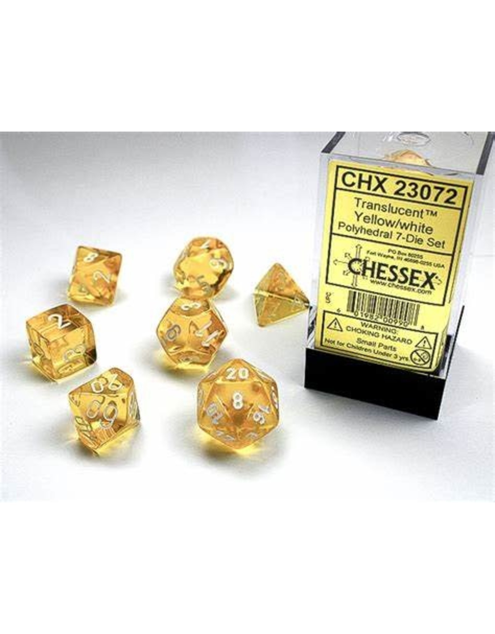 Chessex Chessex Translucent (7pc Set)