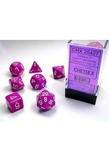 Chessex Chessex Opaque (7pc Set)  Light Purple/White