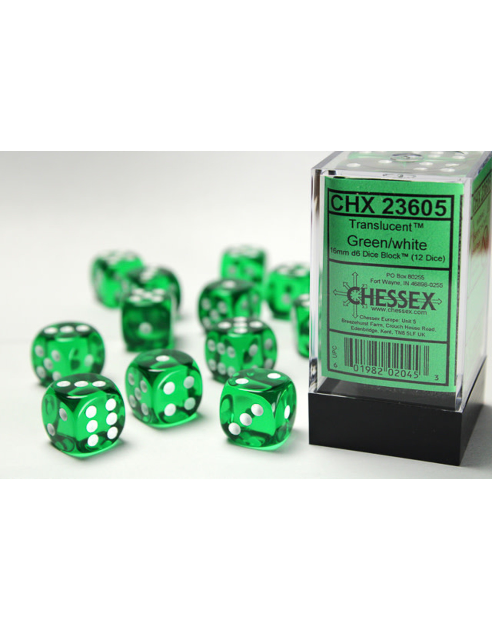 Chessex Chessex Translucent 16mm (12d6)