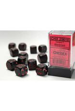 Chessex Chessex Opague 16mm (12d6) Black/Red