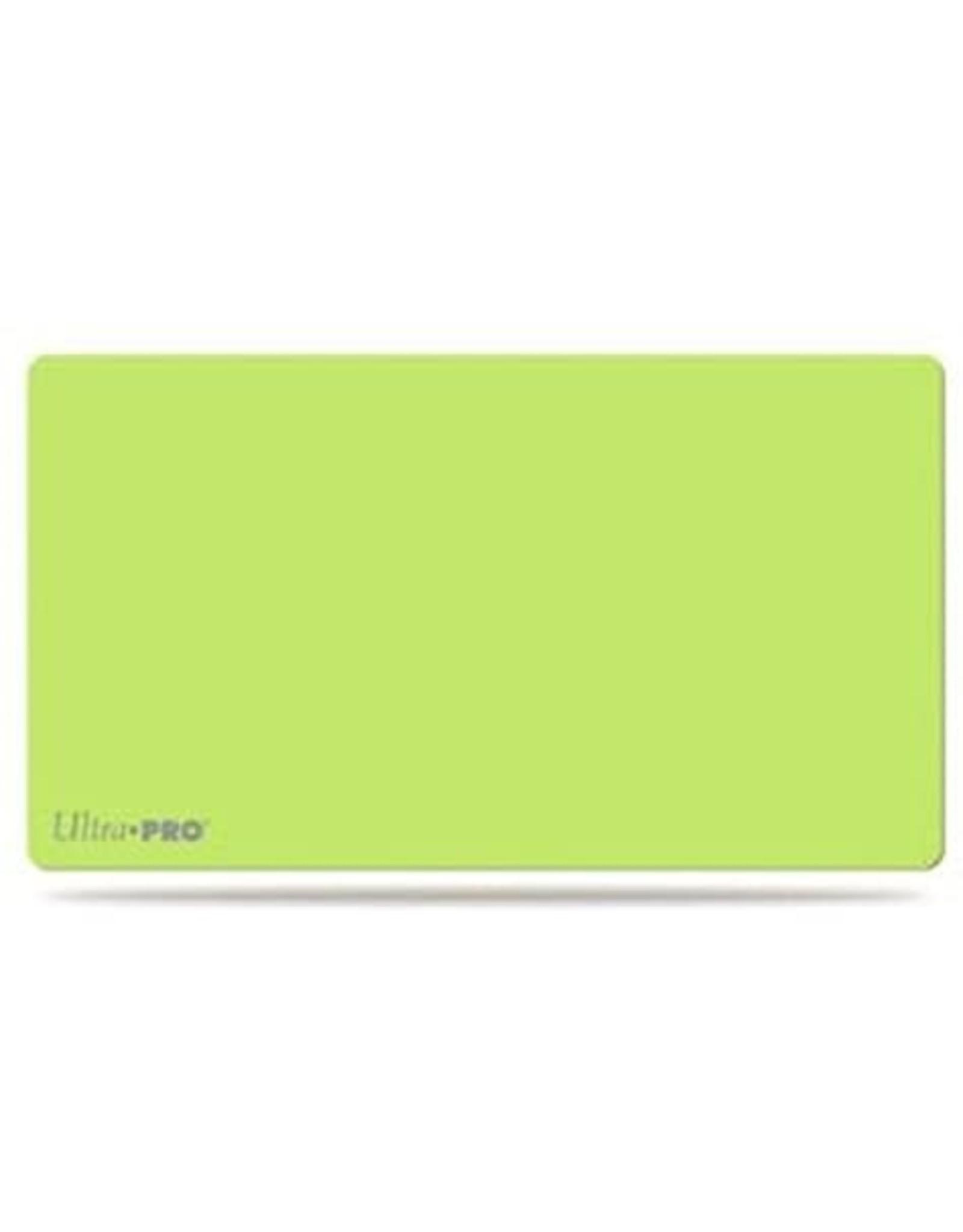Ultra Pro Ultra Pro Artist Playmat: Solid Lime Green