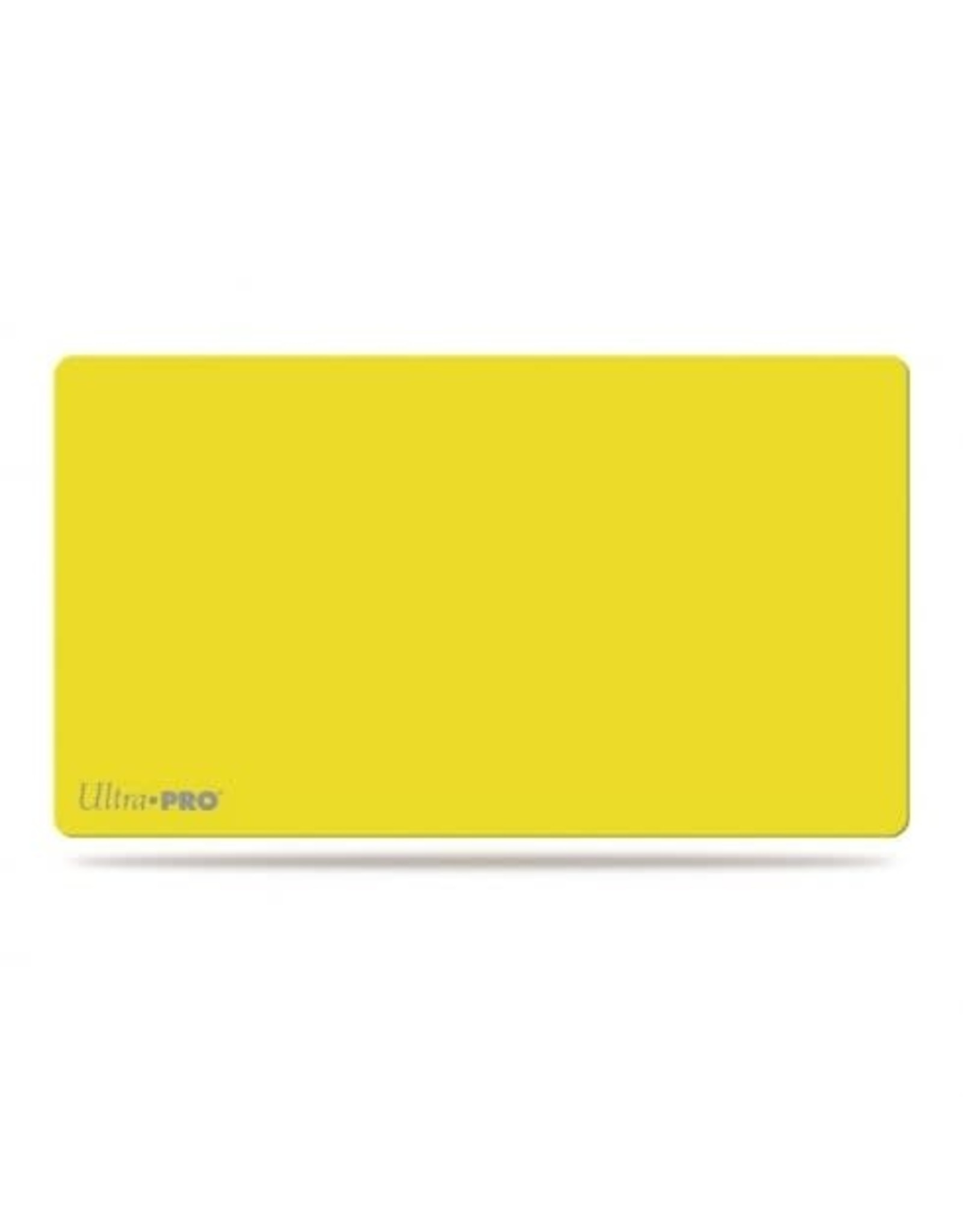 Ultra Pro Ultra Pro Artist Playmat: Solid Yellow