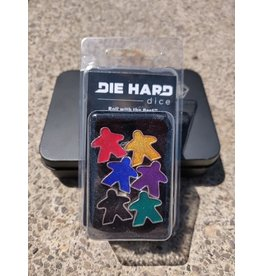 Die Hard Dice Metal Meeples: Set of Six