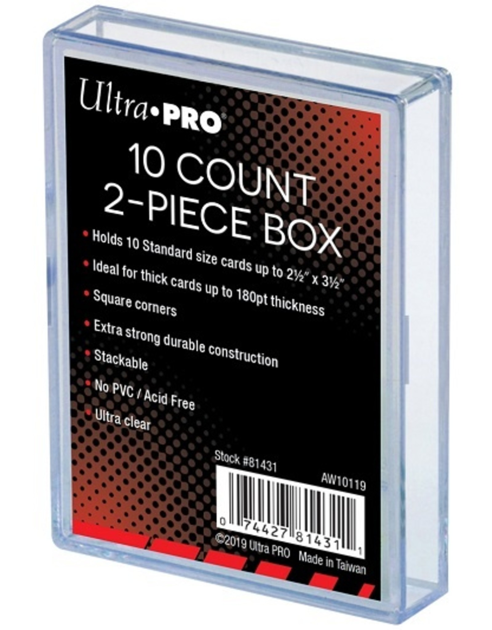 Ultra Pro Ultra Pro 2-Piece Storage Cases