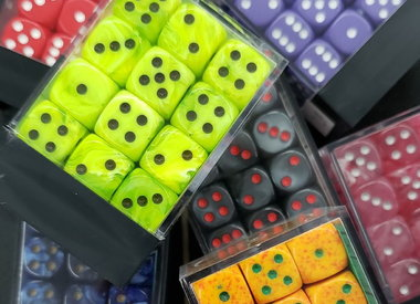 36-pc D6 Dice Sets (12mm)