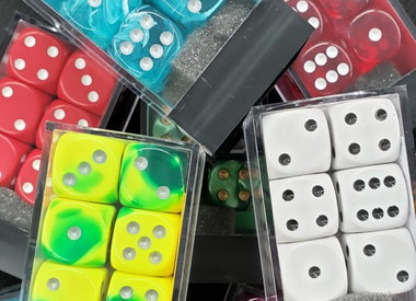 12-pc D6 Dice Sets (16mm)