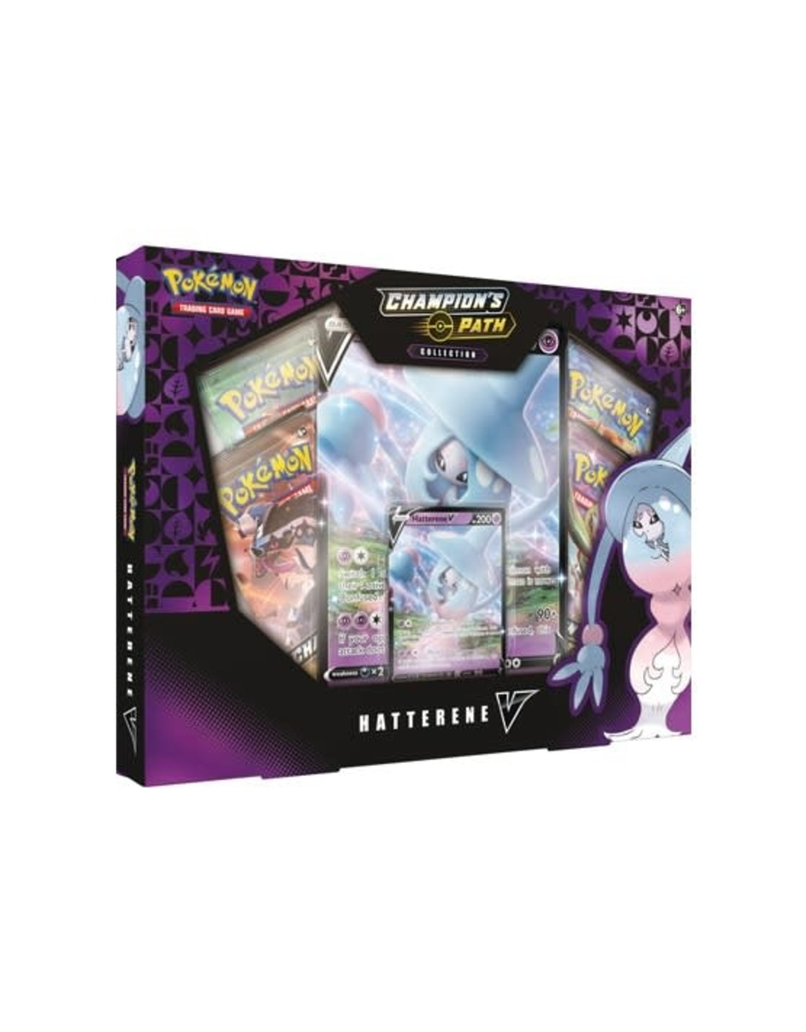 Pokemon Champions Path Hatterene V Collection