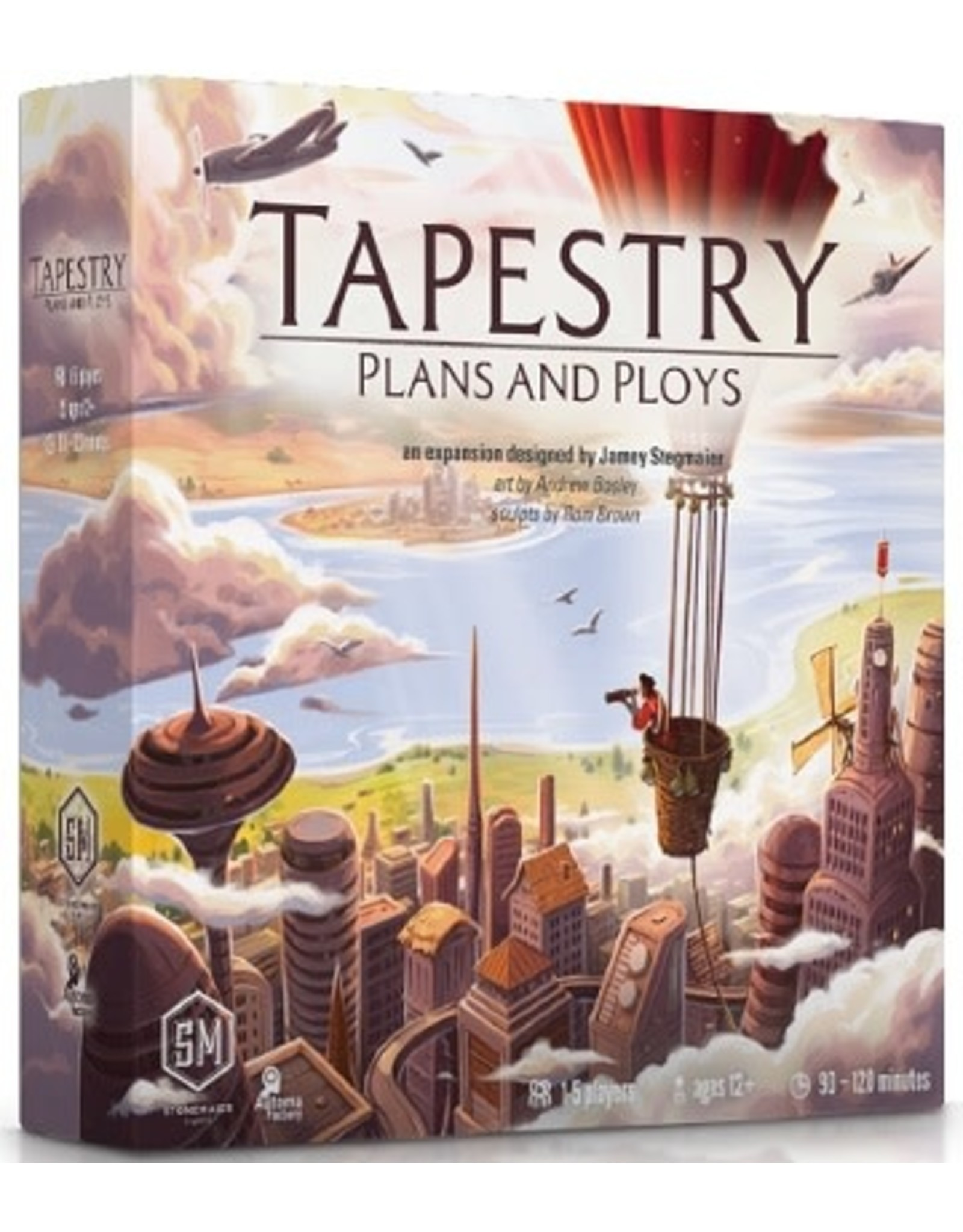 Stonemaier Games Tapestry: Plans and Ploys Expansion