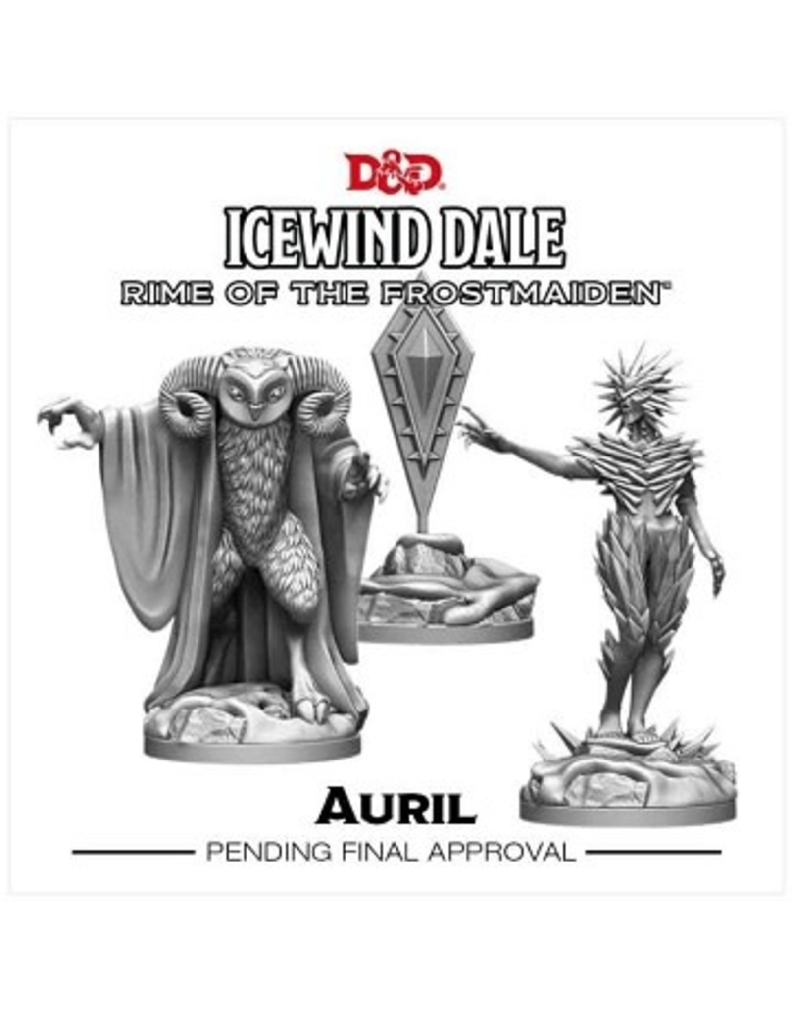 Gale Force 9 Dungeons and Dragons Minis- Icewind Dale- Auril 3ct