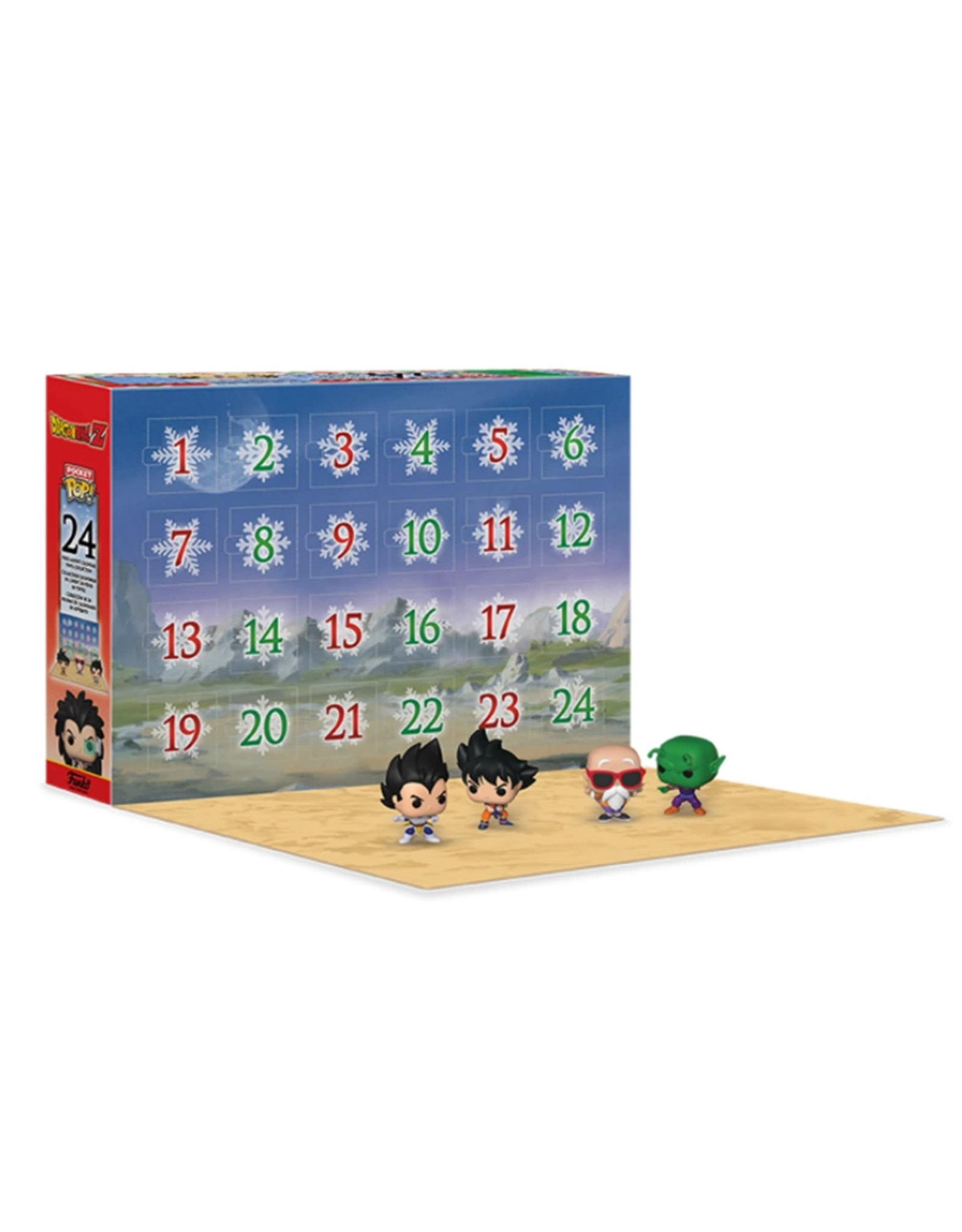 Dragon Ball Z Advent Calendar 2020