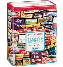 Gibsons Gibsons 1960 Sweet Memories Gift Tin 500 pieces