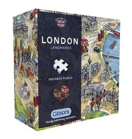Gibsons Gibsons London Landmarks 500 pieces