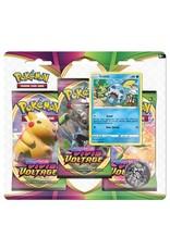 Pokemon Vivid Voltage 3 pack Blister
