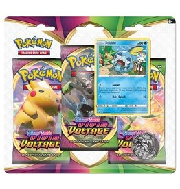 Pokemon Vivid Voltage 3 pack Blister
