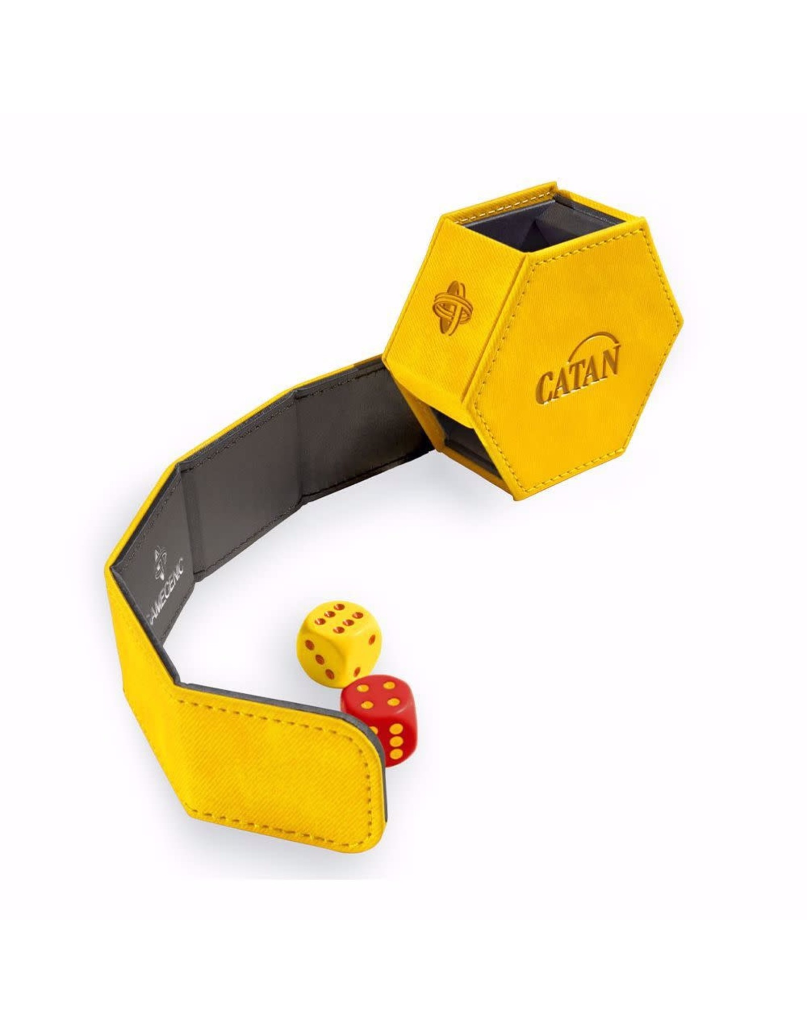 GameGenic Catan Hexatower - Yellow