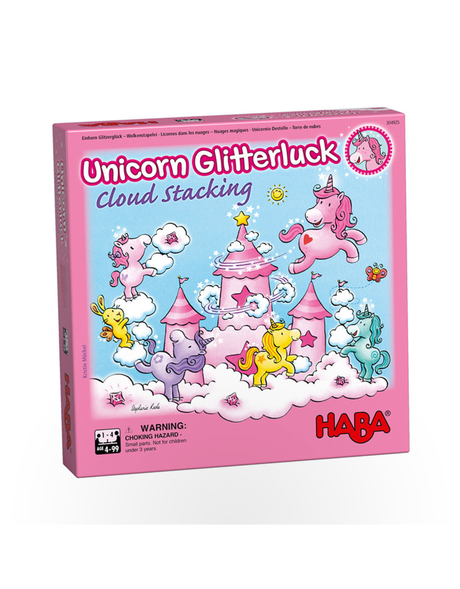 Haba Unicorn Glitterluck - Cloud Stacking