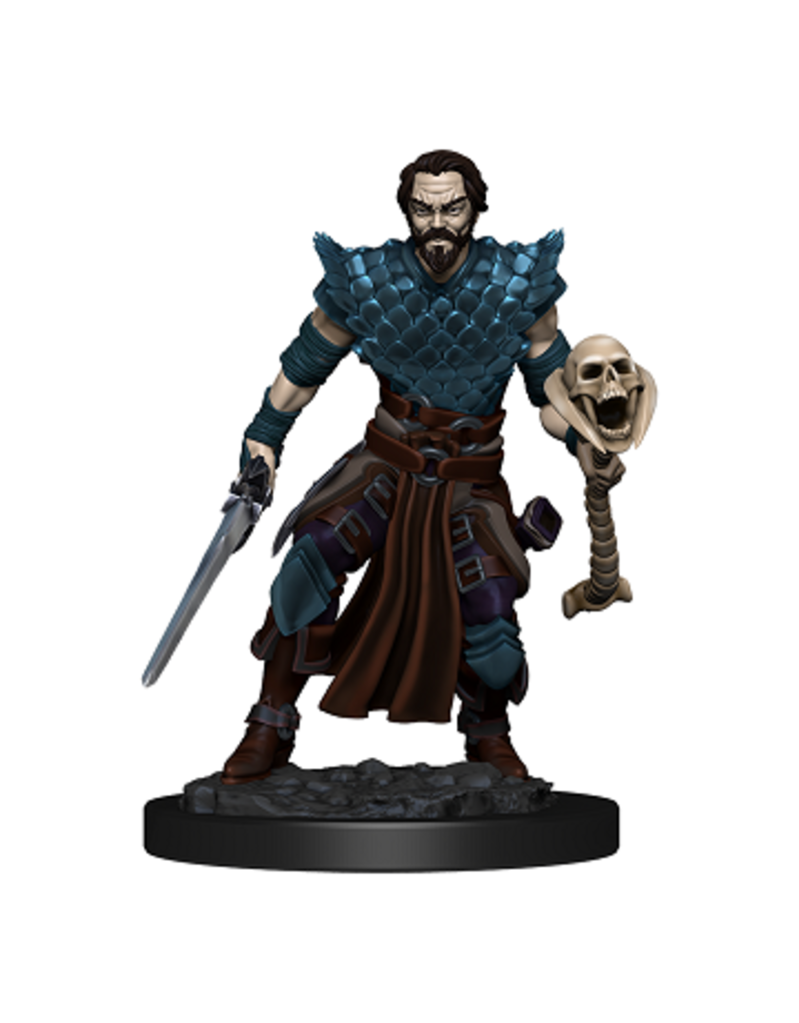 WizKids Icons of the Realm Male Human Warlock Premium