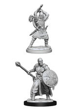Wizards of the Coast Dungeons and Dragons Unpainted Minis Wave 13 - Human Barbarian Male