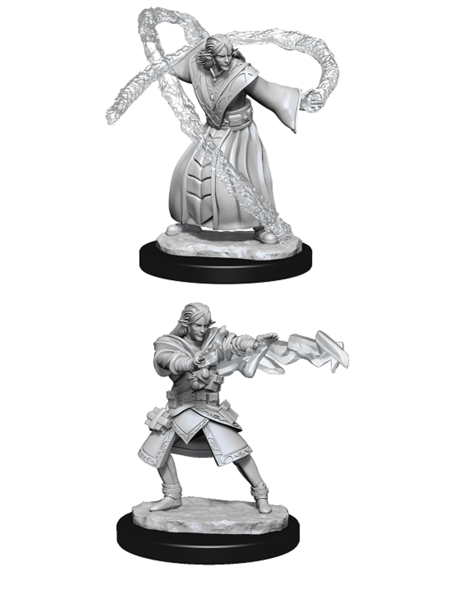 Wizards of the Coast Dungeons and Dragons Unpainted Minis Wave 13 - Elf Wizard Male