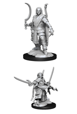 Wizards of the Coast Dungeons and Dragons Unpainted Minis Wave 13 - Human Ranger Male