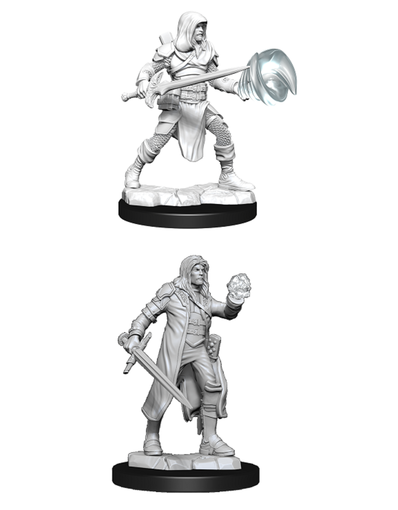 Wizards of the Coast Dungeons and Dragons Unpainted Minis Wave 13 - Fighter/Wizard Male