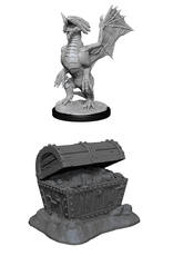 WizKids Dungeons and Dragons Unpainted Minis Wave 13 - Bronze Dragon Wyrmling