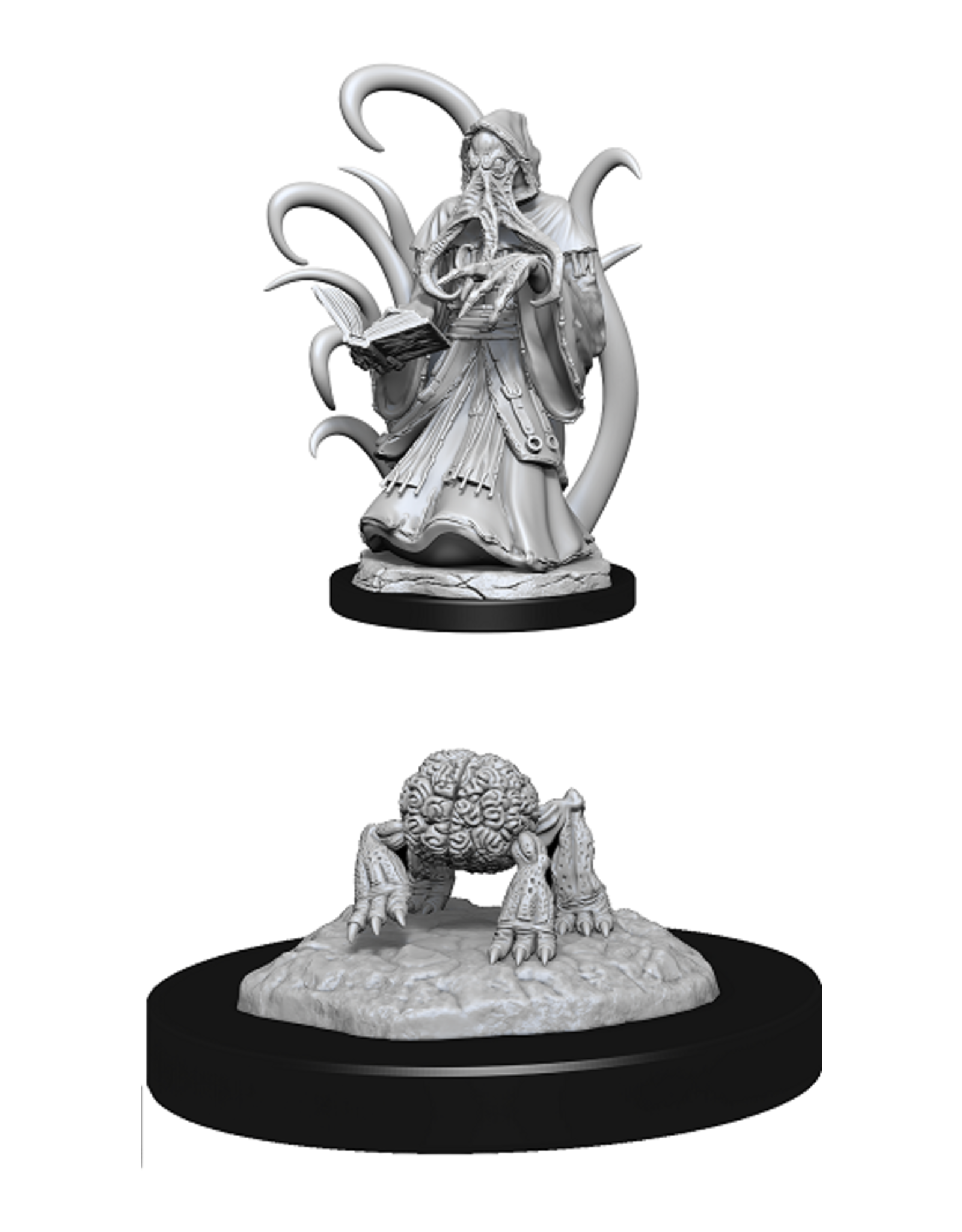 Wizards of the Coast Dungeons and Dragons Unpainted Minis Wave 13 - Alhoon/Intellect Devourer