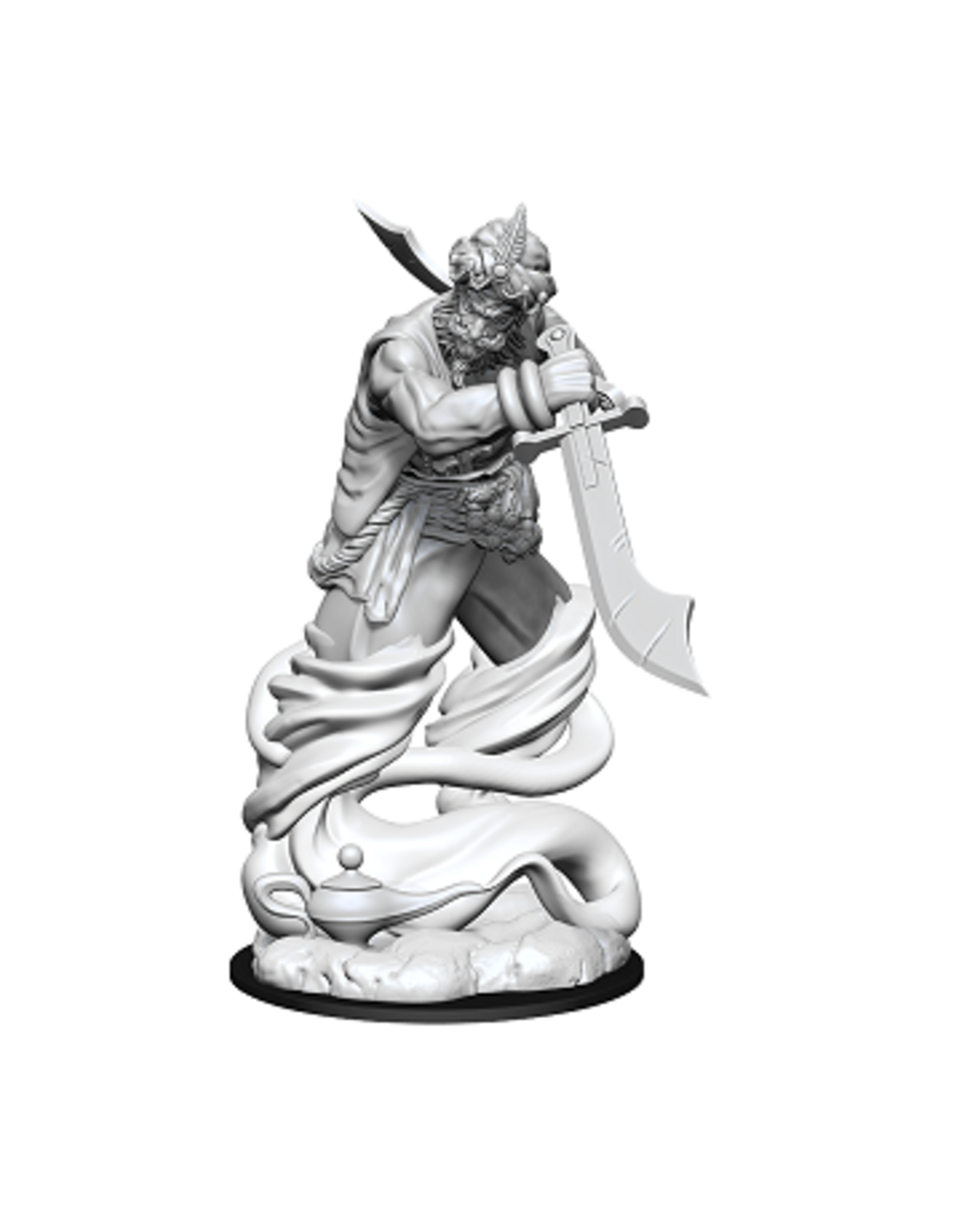 WizKids Dungeons and Dragons Unpainted Minis Wave 13 - Djinni