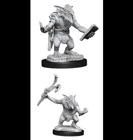 WizKids MTG Unpainted Minis Wave 13 - Goblin Guide/Bushwacker