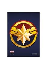 GameGenic Marvel Champions Sleeves - Captain Marvel