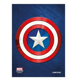 GameGenic Marvel Champions Sleeves - Captain America