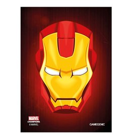 GameGenic Marvel Champions Sleeves - Ironman