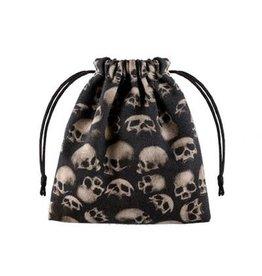 Q Workshop Q Workshop Dice Bag - Skull