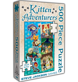 Steve Jackson Games Kitten Adventures Puzzle 500 Pieces