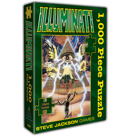 Steve Jackson Games Illuminati Puzzle 1000 Pieces