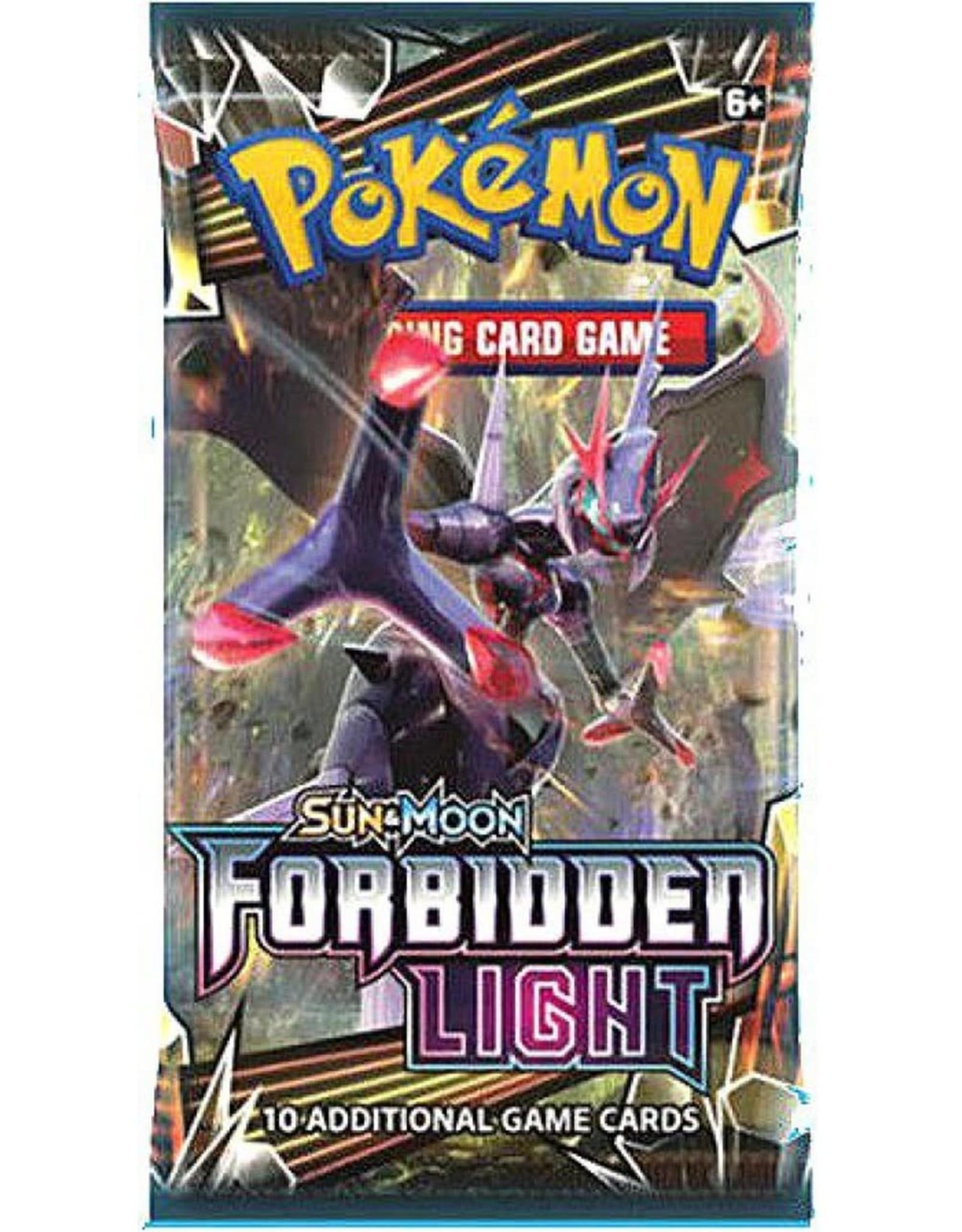 Pokemon Forbidden Light Booster Pack