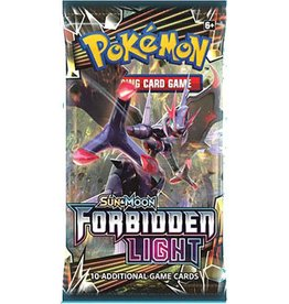 Pokemon Forbidden Light Booster Pack