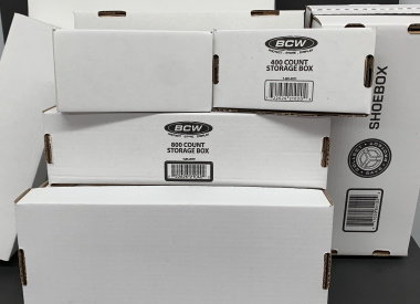 Card Storage Boxes